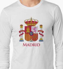 Camiseta de manga larga Escudo de Madrid de España