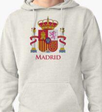 Madrid Shield of Spain Pullover Hoodie