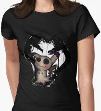 [POKEMON] Mimikyu . : ver. 2 : . Womens Fitted T-Shirt