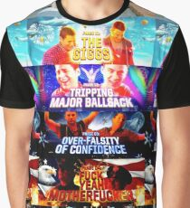5 Stages of HDF- 21 Jump Street Graphic T-Shirt