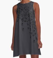 Noctis' Skull and Crossbones Shirt A-Line Dress