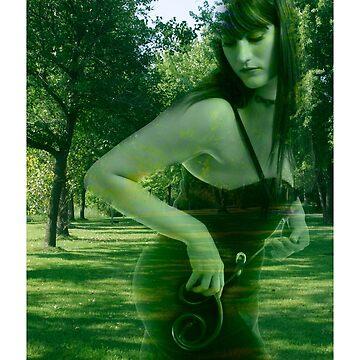 Leaving the Garden by jeliza