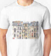 Paris terrace view Unisex T-Shirt
