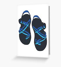 Chacos Greeting Card