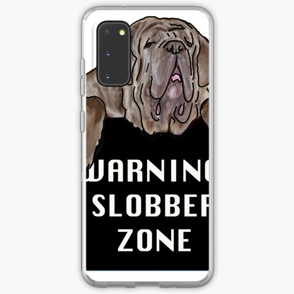Neopolitan Mastiff Slobber Zone Samsung Galaxy Soft Case
