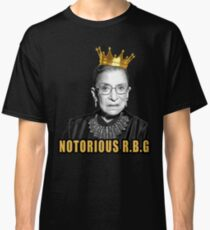 The Notorious Ruth Bader Ginsburg (RBG) Classic T-Shirt