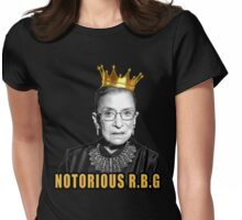 The Notorious Ruth Bader Ginsburg  Womens Fitted T-Shirt