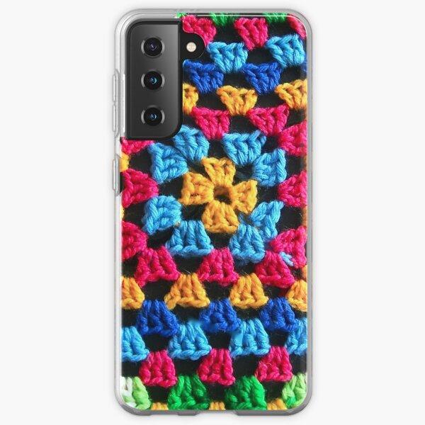 Granny Crochet Throw Samsung Galaxy Soft Case
