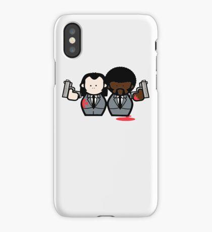 Jules and Vincent- Pulp Fiction iPhone Case