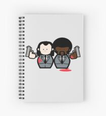 Jules and Vincent- Pulp Fiction Spiral Notebook