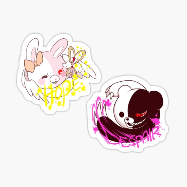 monobear and monomi Sticker