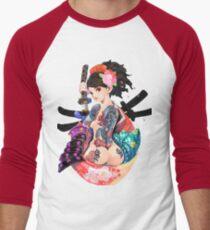 Yakuza Girl Men's Baseball ¾ T-Shirt
