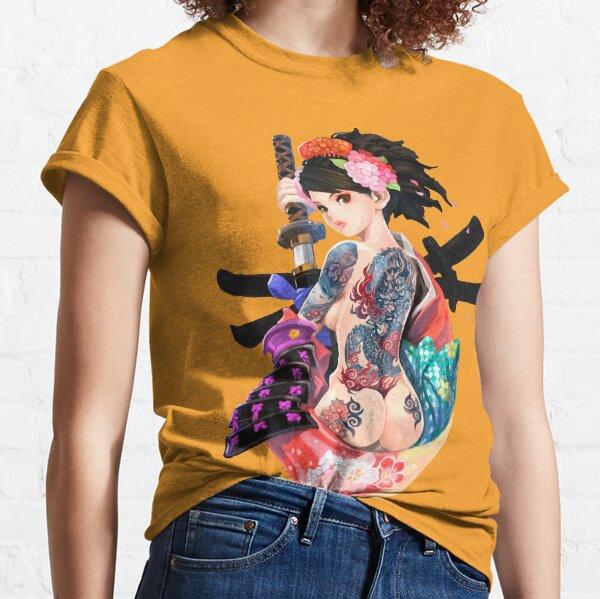 Chica Yakuza Camiseta clásica