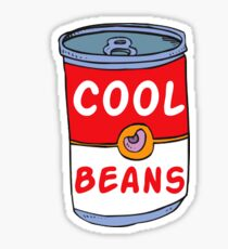Can of Cool Beans Sticker
