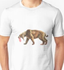 """Saber"" Tooth Tiger Unisex T-Shirt"
