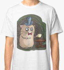 Sir Hamster with tea Classic T-Shirt