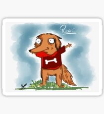 Ruairí the Irish red setter Sticker