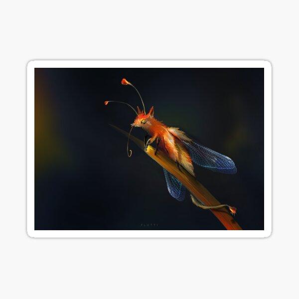 Foxfly Sticker