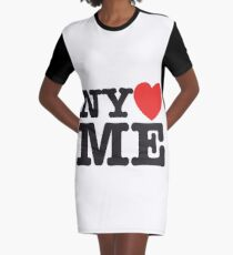 Vestido camiseta NY <3 ME