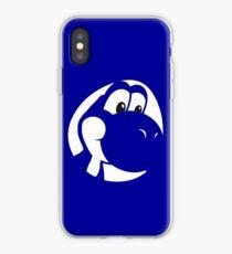 My Friend Yoshi - Blue iPhone Case