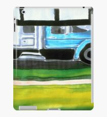 Blue Truck  iPad Case/Skin