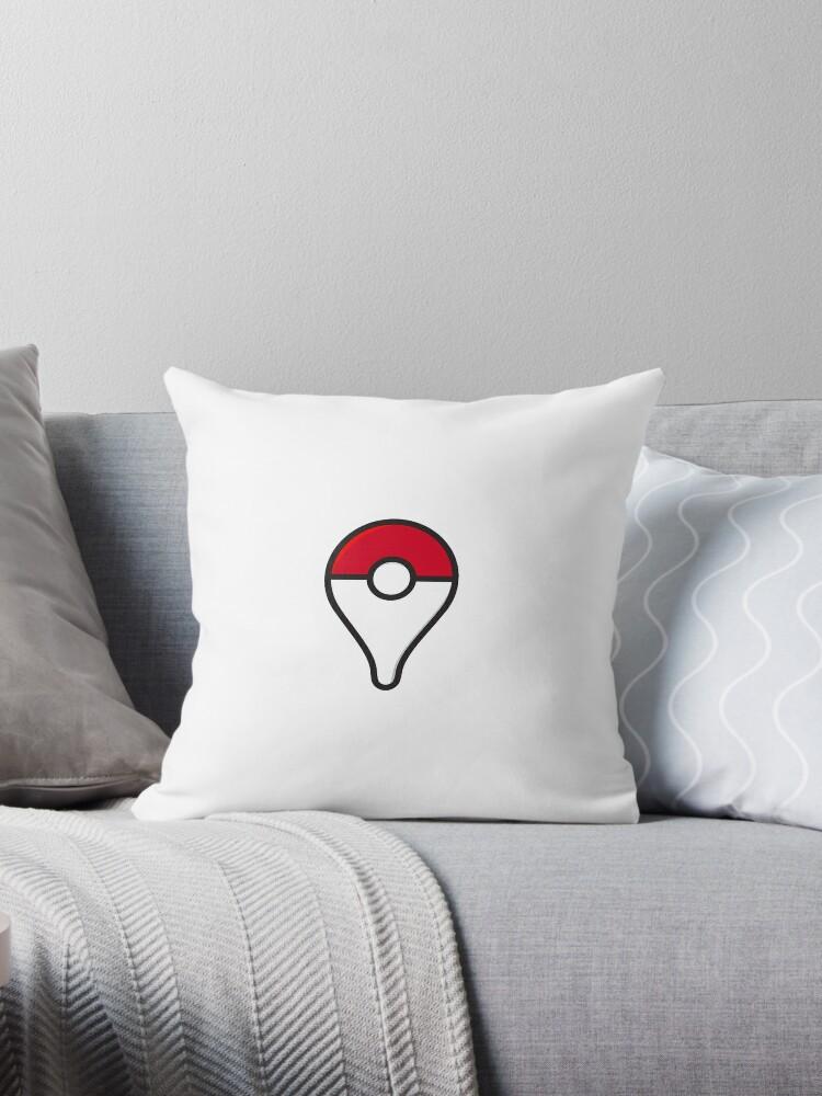 Pokemon Go Plus Sticker Throw Pillow By Metaminas