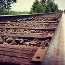 Railroad tracks by AsteriskZero