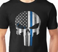 Police Punisher Target Shoot Unisex T-Shirt
