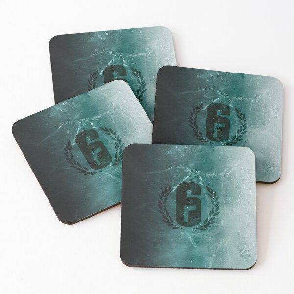 black ice - Rainbow Six Siege Coasters (Set of 4)