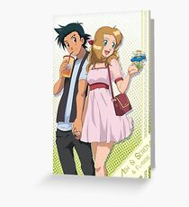 Amourshipping - First Date Greeting Card