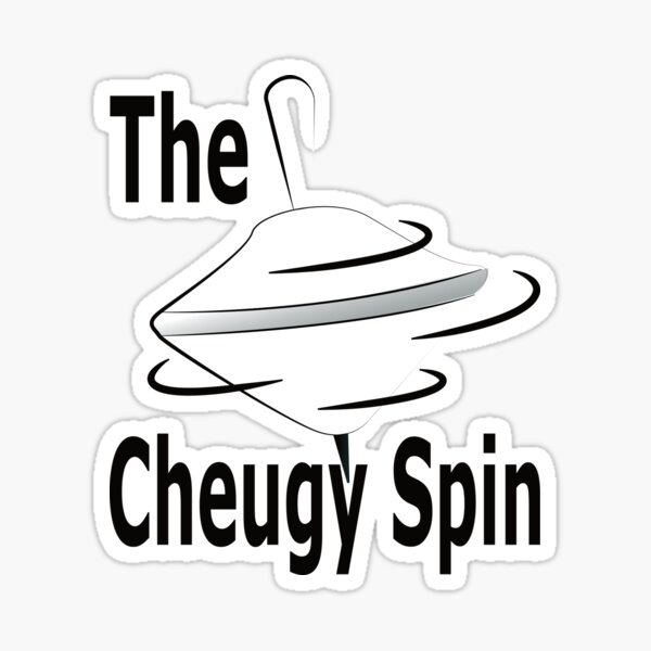 The Cheugy Spin T-Shirt Sticker