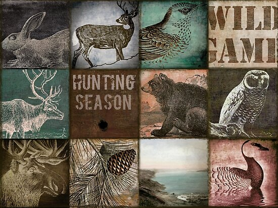 Hunting Season Patchwork by mindydidit