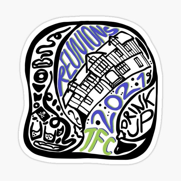 TFC Reunions 2021 Stickers & Magnets Sticker