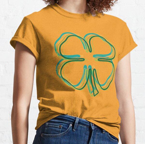 shamrock blur Classic T-Shirt