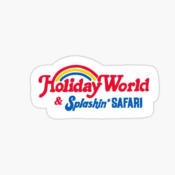 Holiday World Sticker