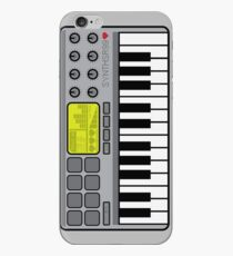 Synth Midi Controller - Retro Grey iPhone Case
