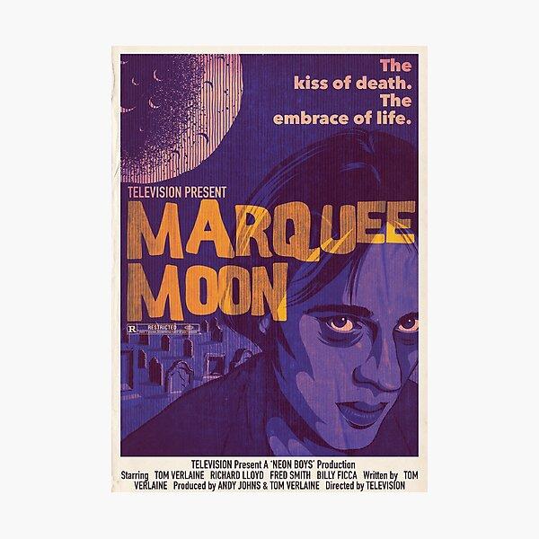 Marquee Movie Photographic Print