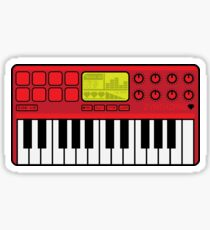 Synth Midi Controller - Red06 Sticker