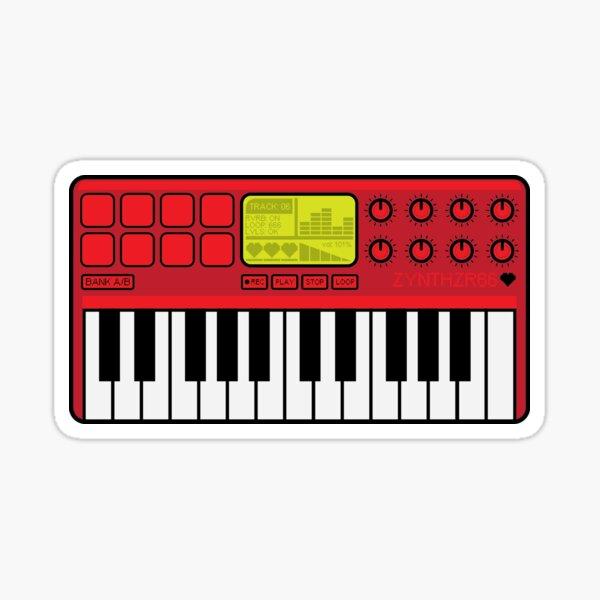 Synth Midi Controller - Red06 Sticker