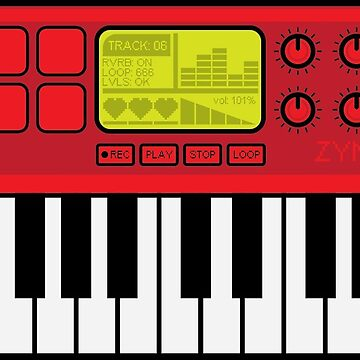 Synth Midi Controller - Red06 by bl0r