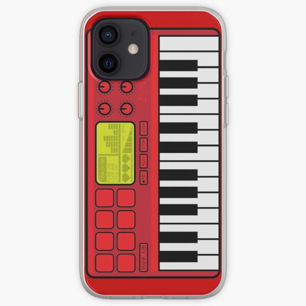 Synth Midi Controller - Red06 iPhone Soft Case
