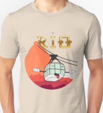 The Face of Rio - Cable Car of Sugar T-Shirt