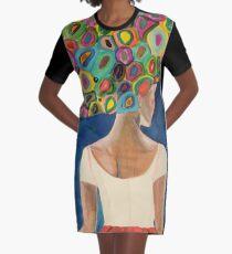 dans la nuit Graphic T-Shirt Dress
