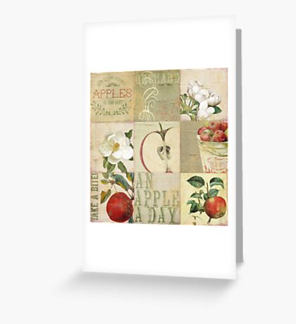 Apple Blossoms II Greeting Card