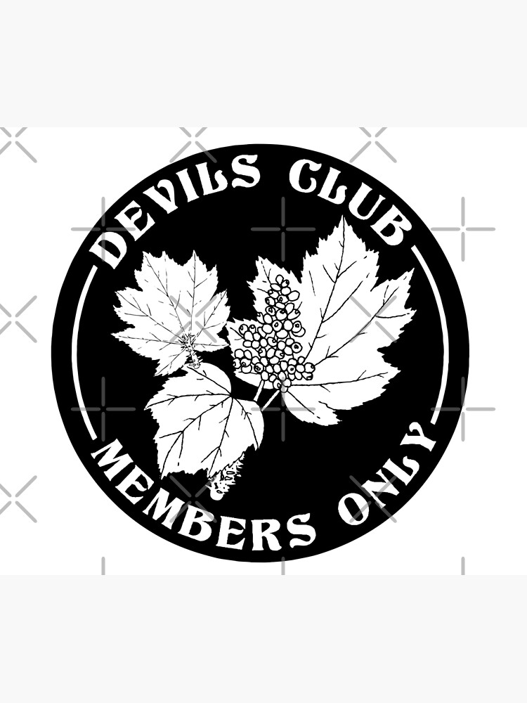 devils club, members only by craftordiy