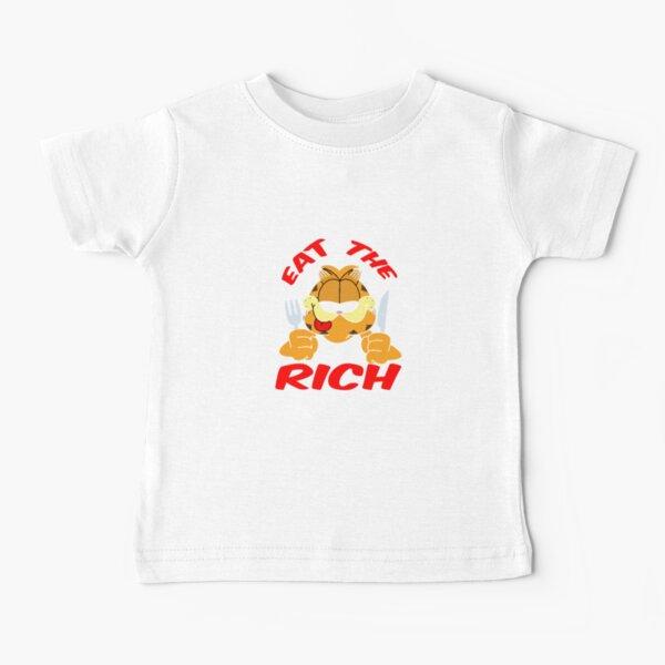 Eat The Rich Garfield Baby T-Shirt