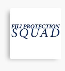 Fili Protection Squad Canvas Print