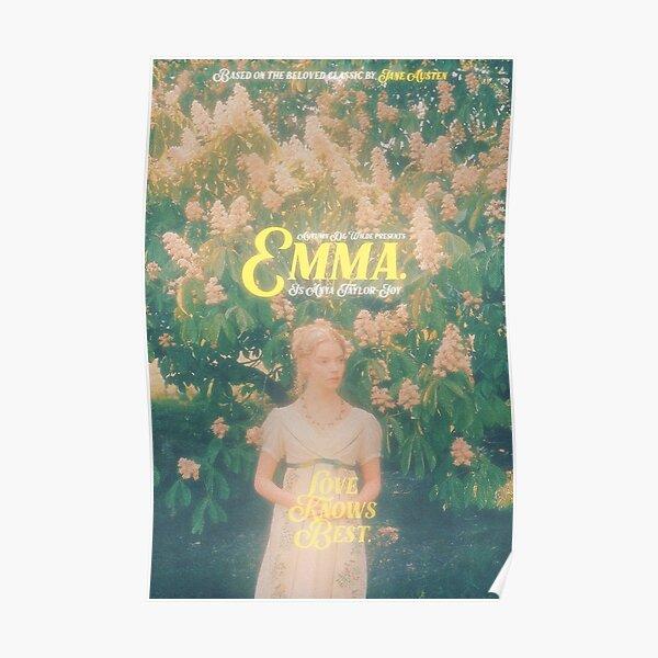 """""""EMMA"""" - AUTUMN DE WILDE   V3 Poster"""