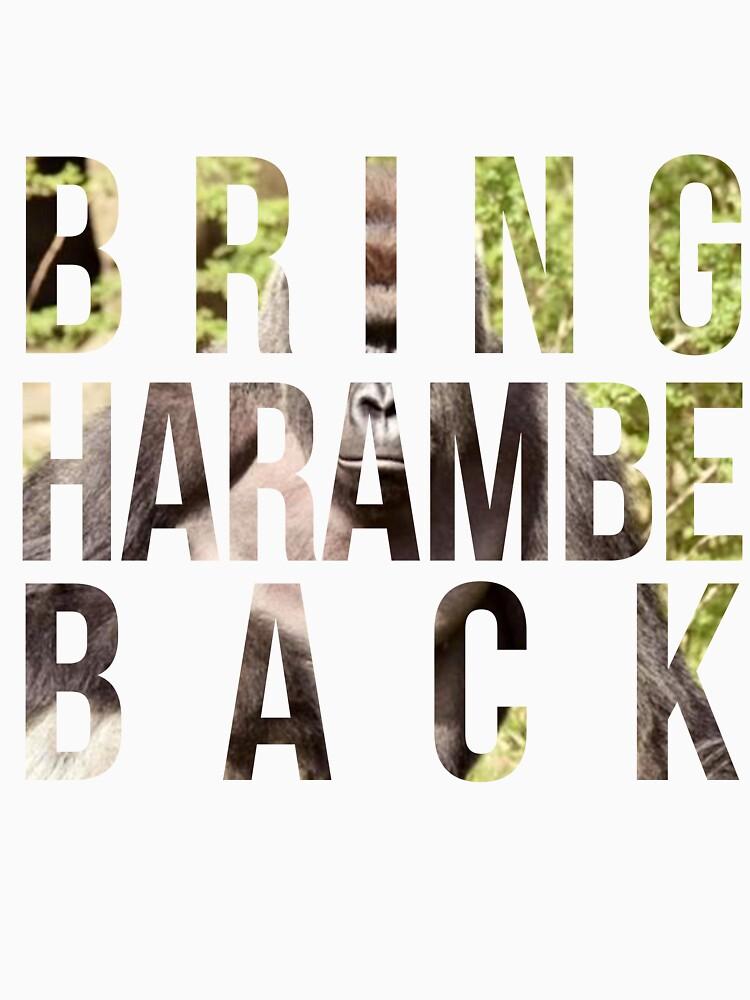 Bring Harambe Back | Classic T-Shirt