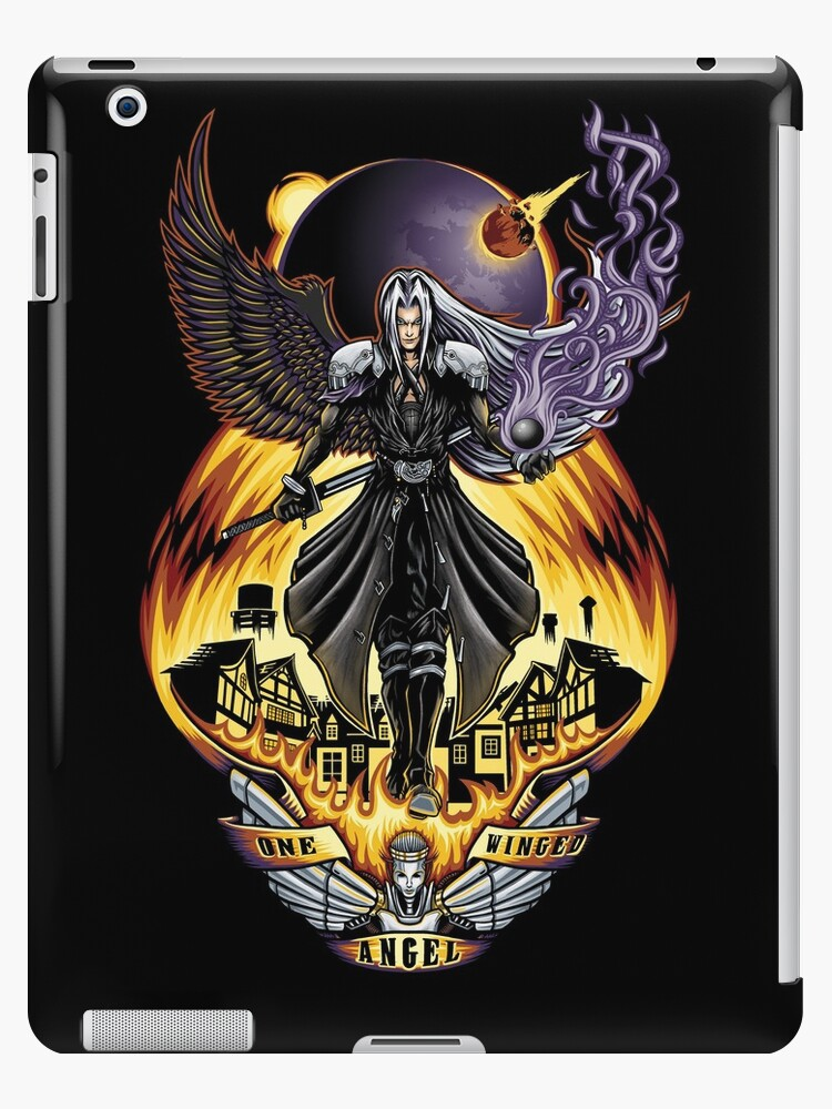 One Winged Angel - Ipad Case by TrulyEpic